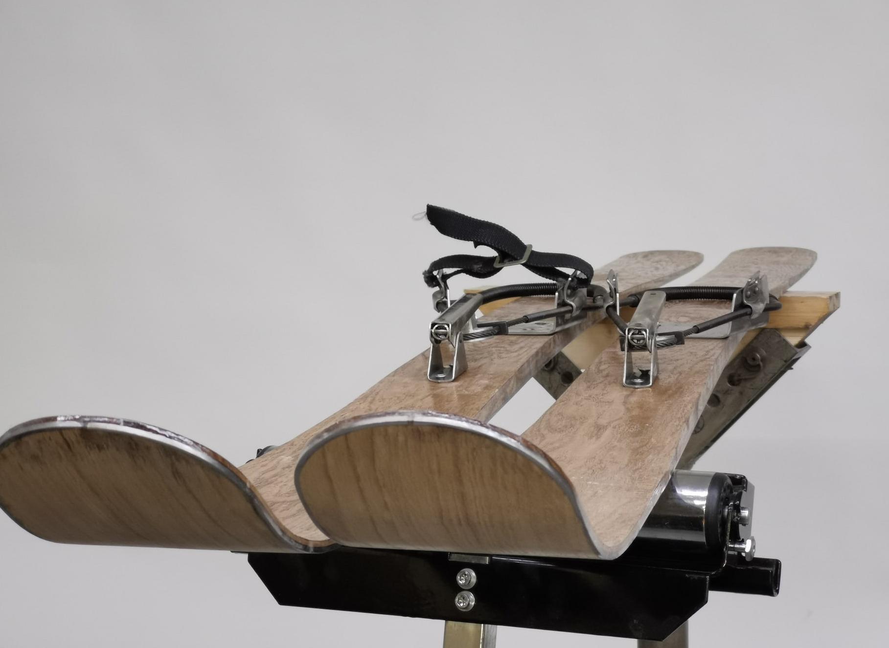 Шифонеры или композитные лыжи с дубовым скользяком специально для туризма