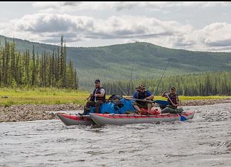 Пойти в поход (Водный туризм): Сплав и рыбалка на реке Туолба (Якутия)